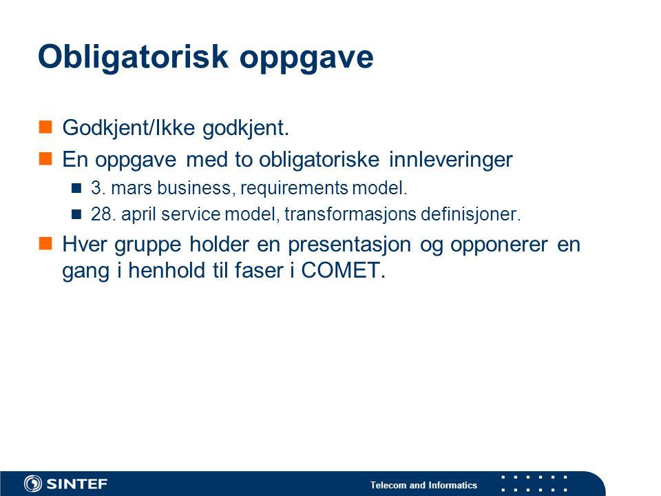 Telecom and Informatics Verktøy Eclipse.