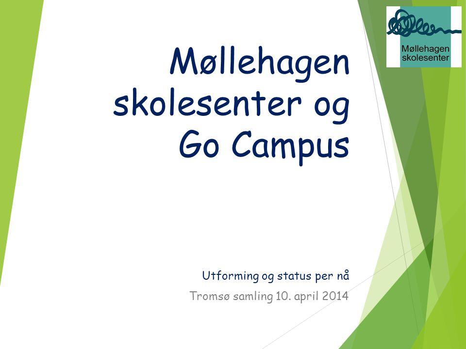 Møllehagen skolesenter og Go Campus Utforming og status per nå Tromsø samling 10. april 2014