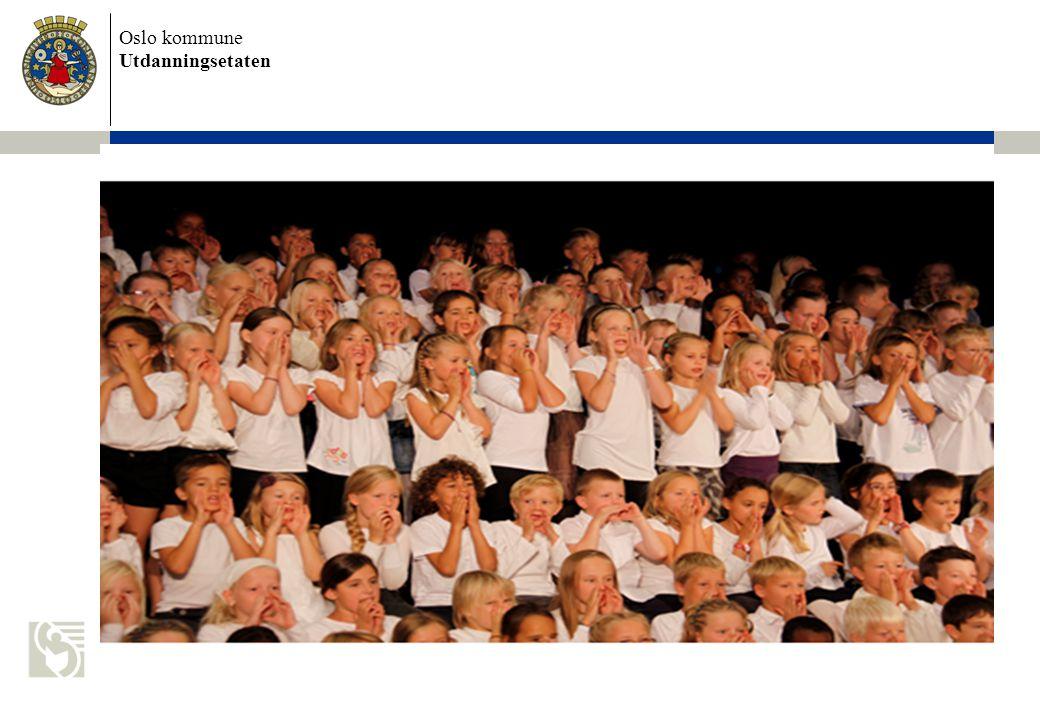 Oslo kommune Utdanningsetaten Oppstart AKS august 2014 AKS åpner 1.