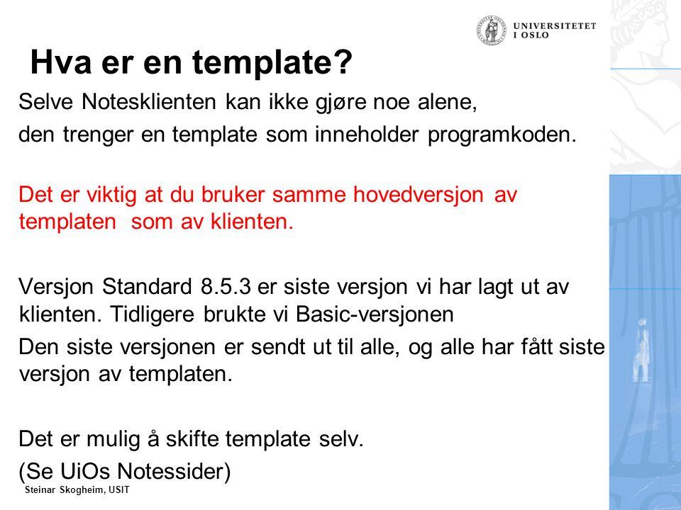 Steinar Skogheim, USIT Hvor ligger user.id ?