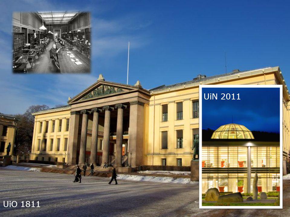 10 Kunnskapsdepartementet UiO 1811 UiN 2011