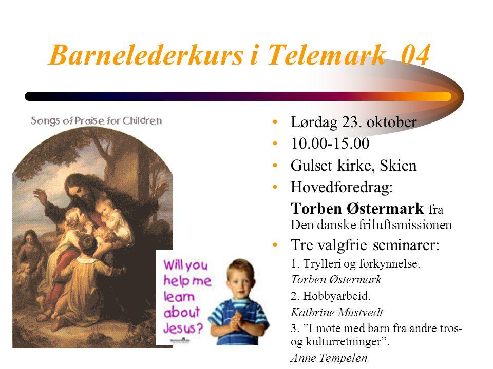 Barnelederkurs i Telemark 04 Lørdag 23.