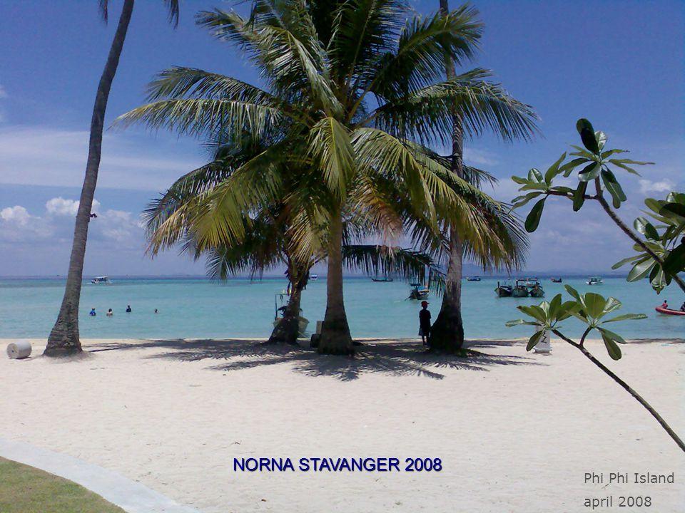 NORNA STAVANGER 2008 Phi Phi Island april 2008