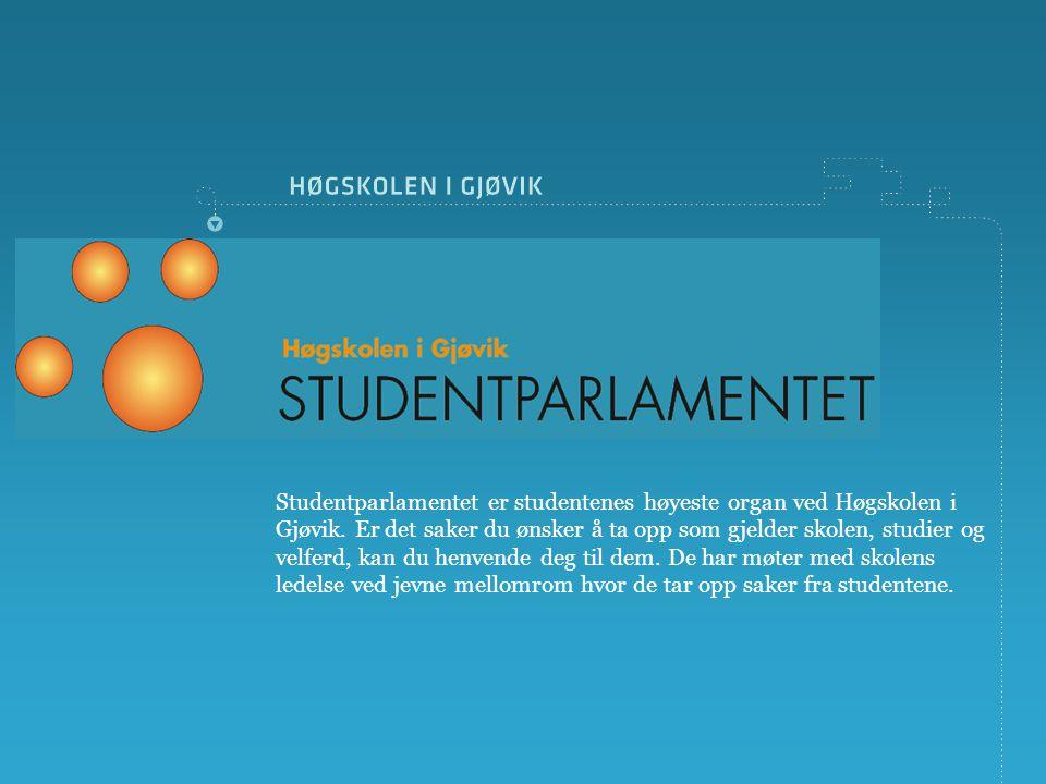 Studentparlamentet er studentenes høyeste organ ved Høgskolen i Gjøvik.