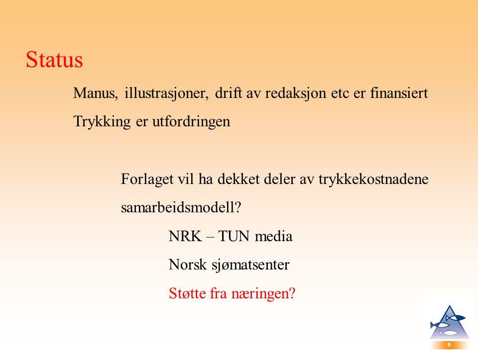 10 Andre utfordring Tekst Få inn tekst, bakgrunnsmateriale, innspill etc innen oppsatte tidsfrister...