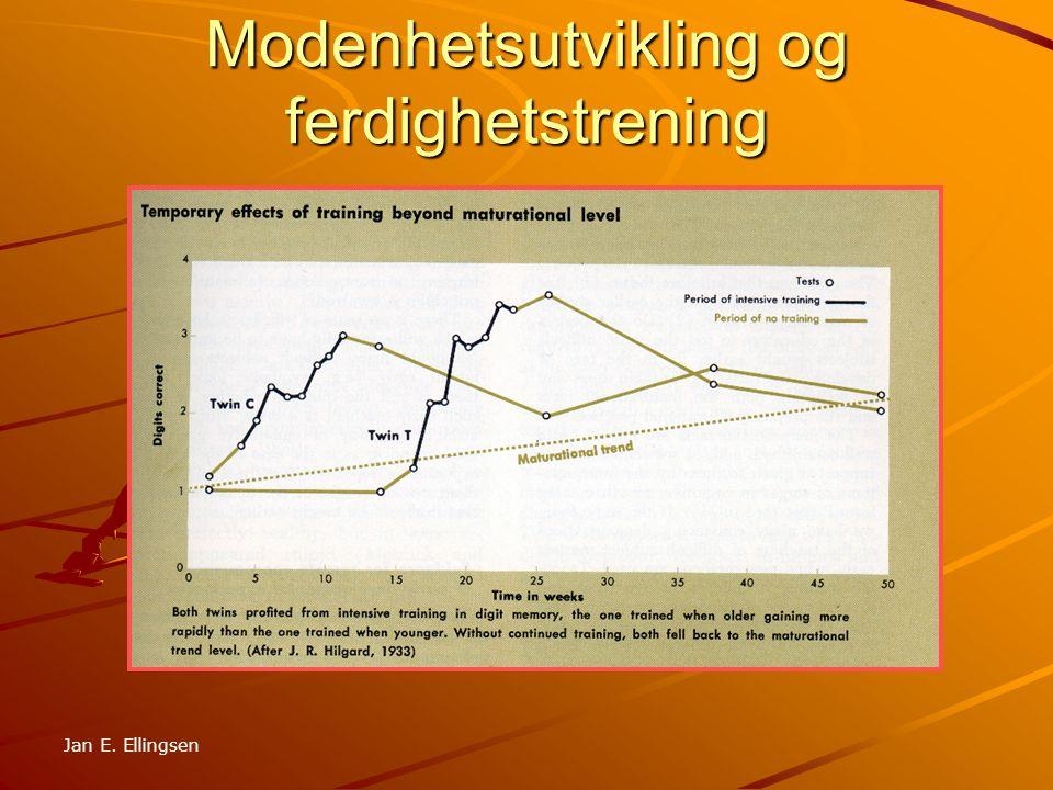 Motorisk utvikling Etter Moen/Sivertsen Jan E. Ellingsen