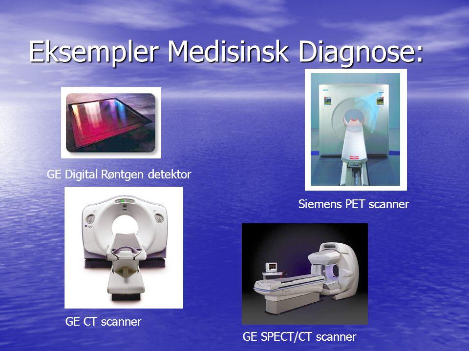Eksempler Security: L3 explosive scanner (x-ray diffraction) L3 bagasje scanner