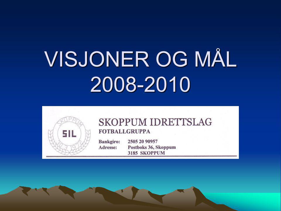 VISJONER OG MÅL 2008-2010