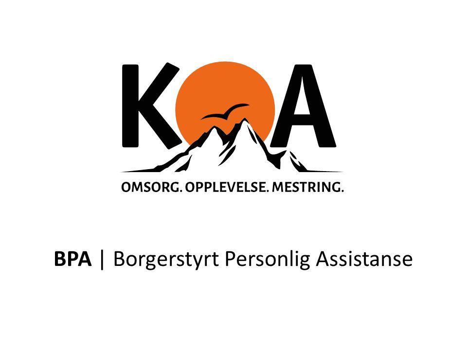 BPA | Borgerstyrt Personlig Assistanse