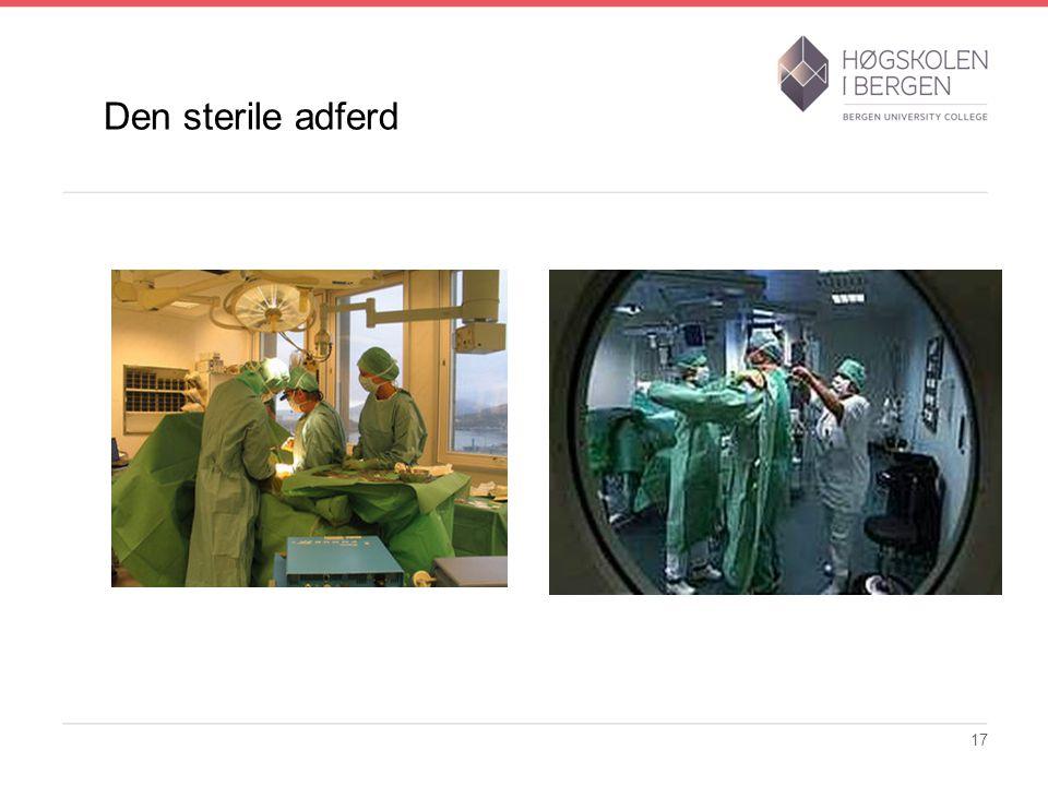 Den sterile adferd 17