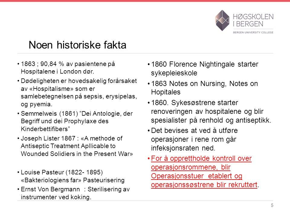 Litteratur Anker L.2012: Somatiske sykehus i Norge ca.