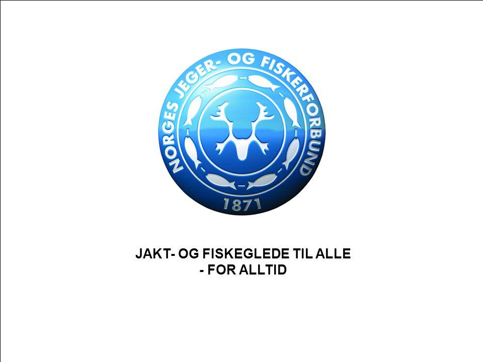 JAKT- OG FISKEGLEDE TIL ALLE - FOR ALLTID