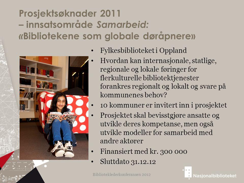 Fylkesbiblioteket i Oppland Hvordan kan internasjonale, statlige, regionale og lokale føringer for flerkulturelle bibliotektjenester forankres regiona
