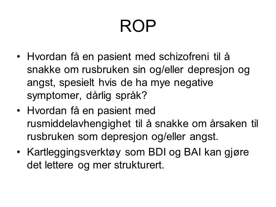ROP For eksempel BDI 21.