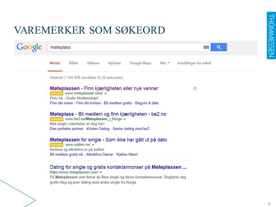 VAREMERKER SOM SØKEORD 6