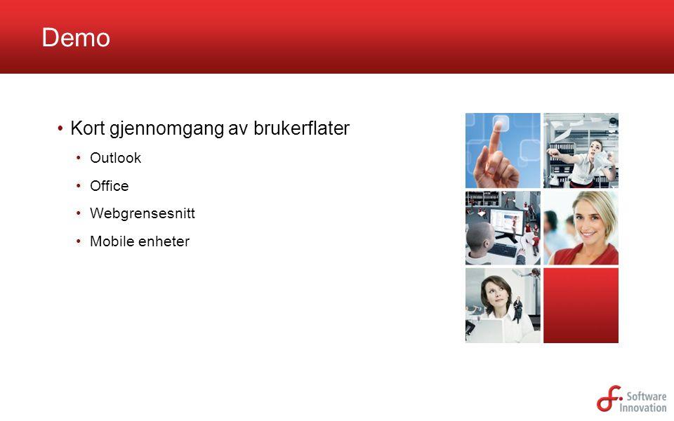 Software Innovation | N-1364 Fornebu Norway | +47 23 89 90 00 | www.software-innovation.com