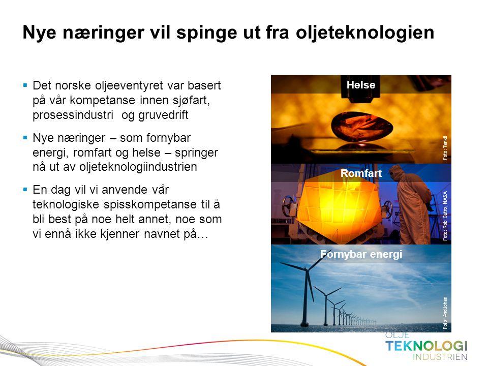 6 Norges Bank Pengepolitikk  Det norske oljeeventyret var basert på vår kompetanse innen sjøfart, prosessindustri og gruvedrift  Nye næringer – som