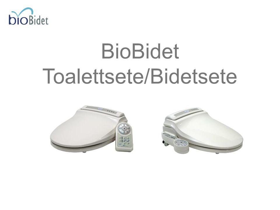 BioBidet Toalettsete/Bidetsete