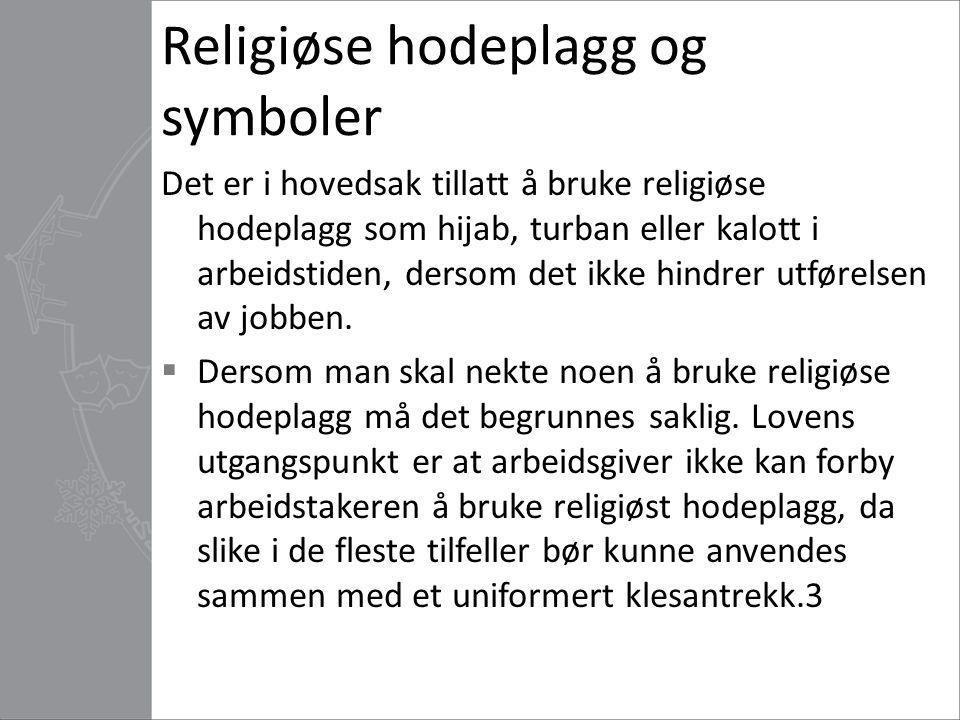 Hijab i Ullevål sykehus