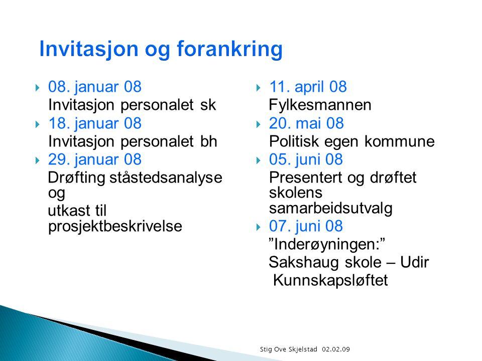 Stig Ove Skjelstad 02.02.09  08.januar 08 Invitasjon personalet sk  18.