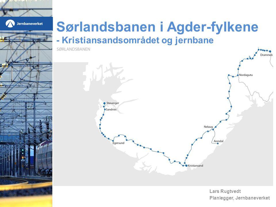 Lars Rugtvedt Planlegger, Jernbaneverket Sørlandsbanen i Agder-fylkene - Kristiansandsområdet og jernbane