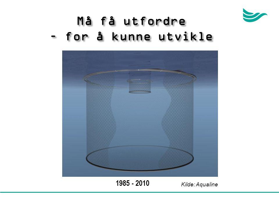 Kilde: Aqualine 1985 - 2010 Må få utfordre – for å kunne utvikle