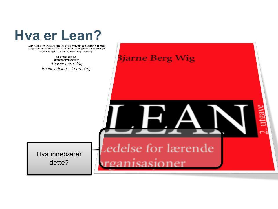 Hva er Lean.