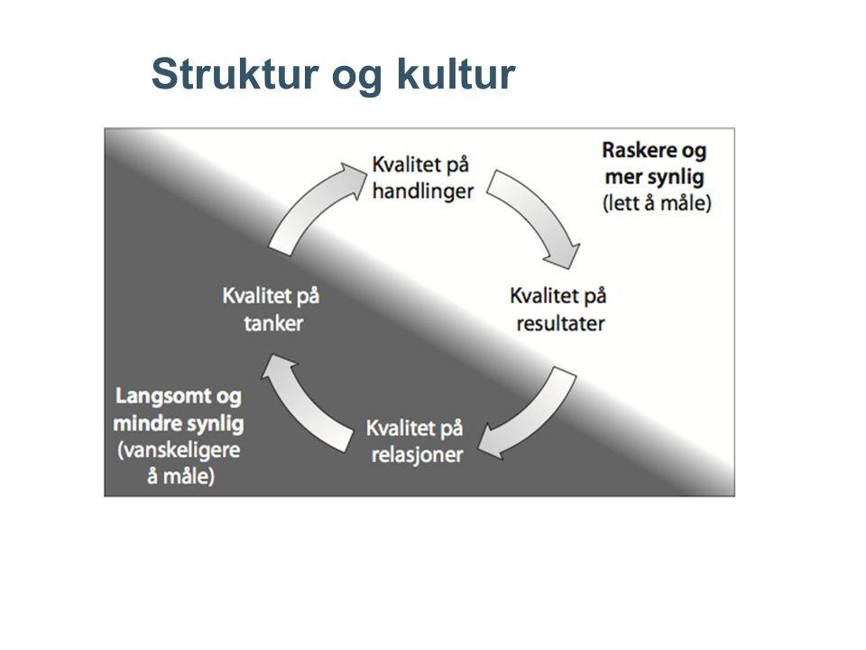 Struktur og kultur
