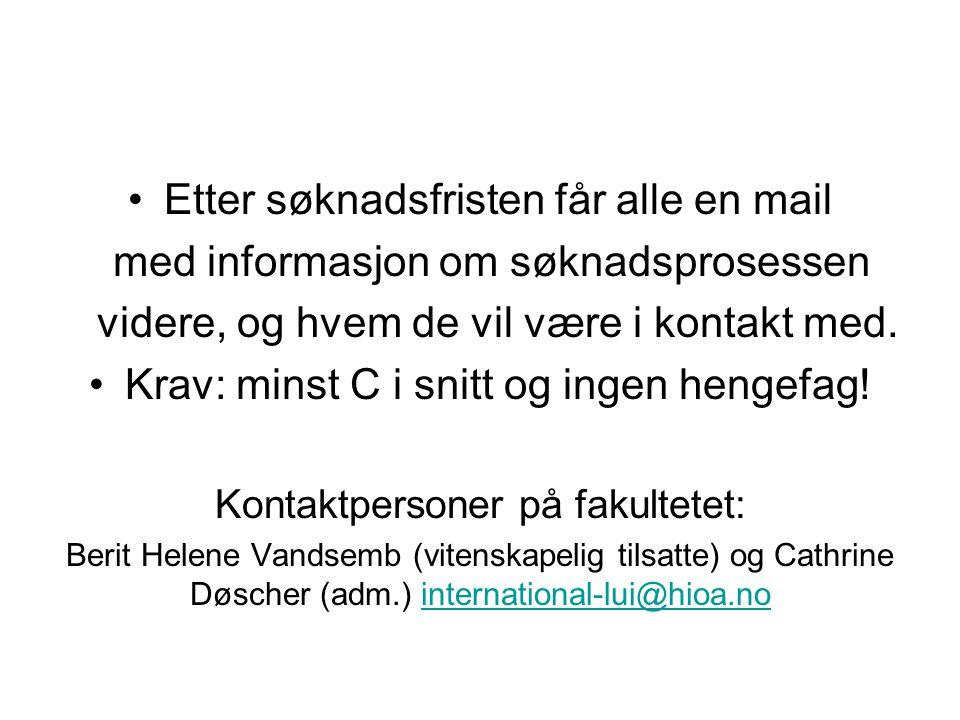 Studier ved andre institusjoner Du kan også velge å ta fag ved institusjoner i Norge som HiOA.