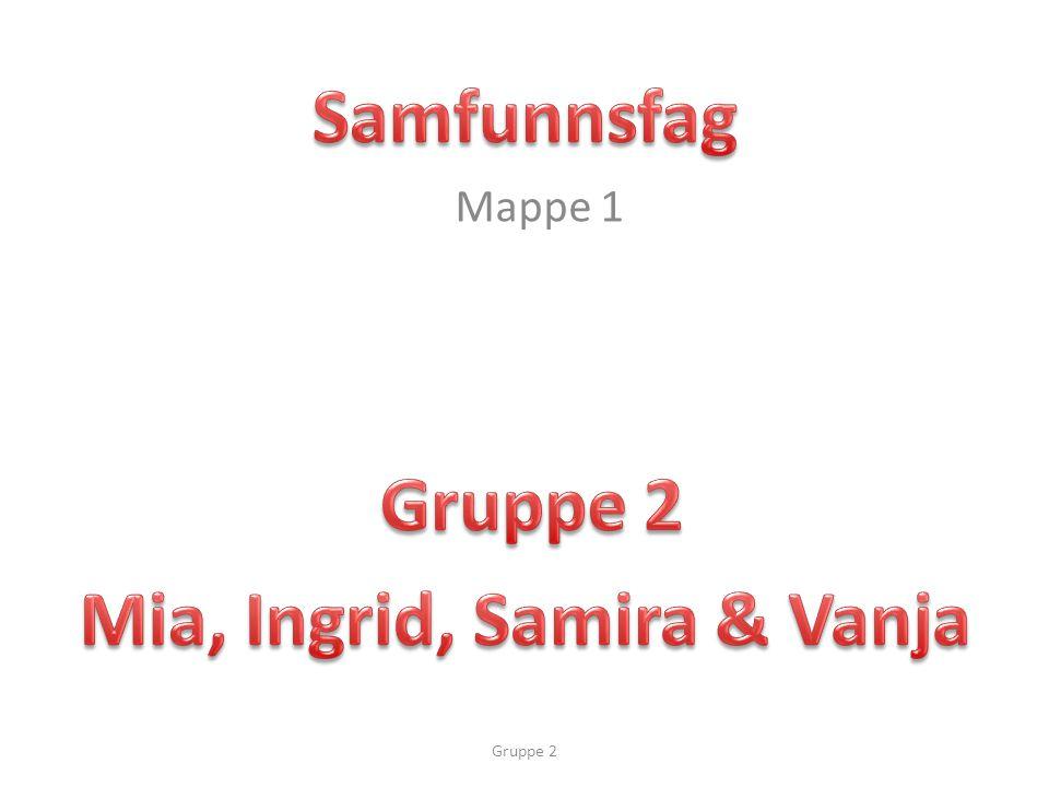 Mappe 1 Gruppe 2