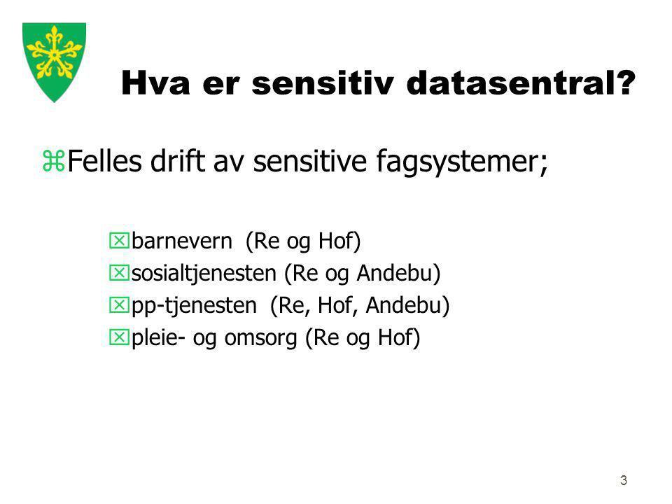 3 Hva er sensitiv datasentral.
