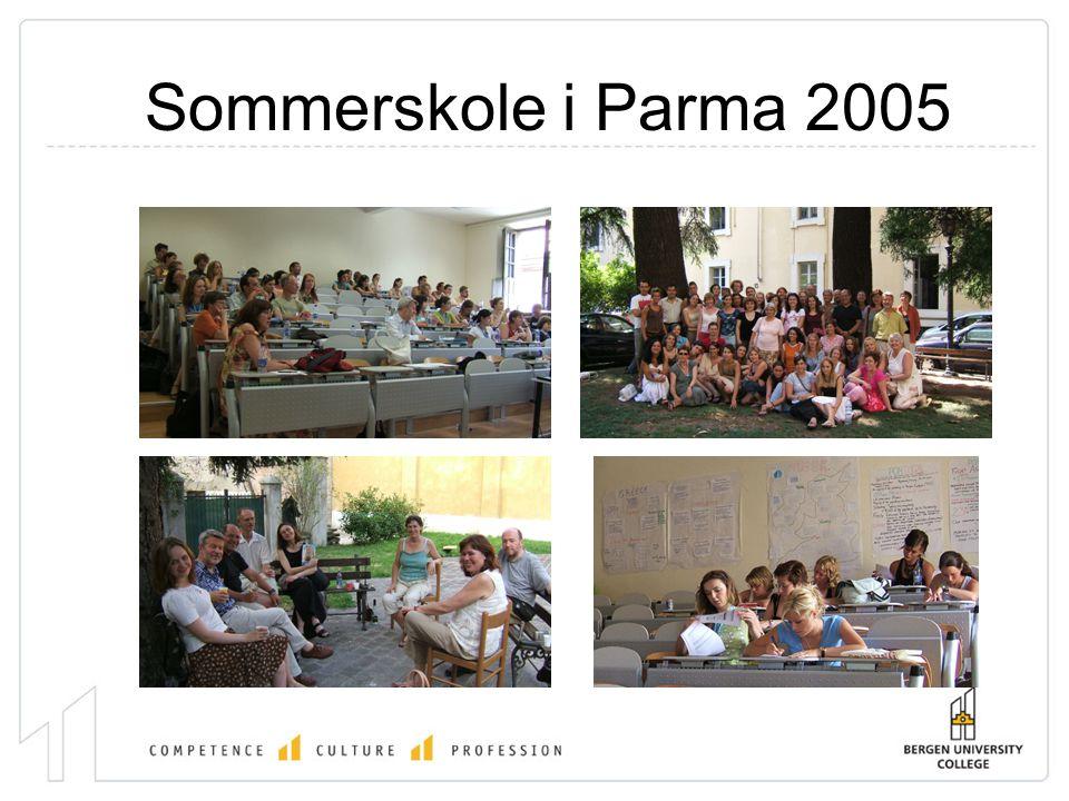 Sommerskole i Parma 2005