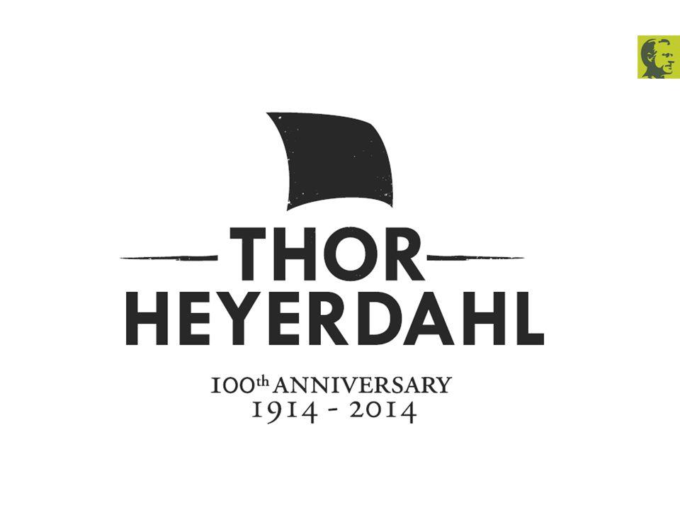 Historisk tilbakeblikk 100 år siden Thor Heyerdahls fødsel