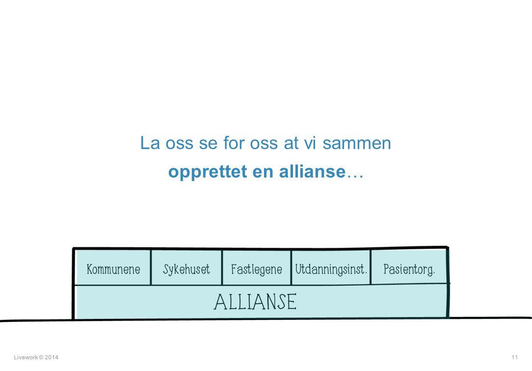 11 La oss se for oss at vi sammen opprettet en allianse…