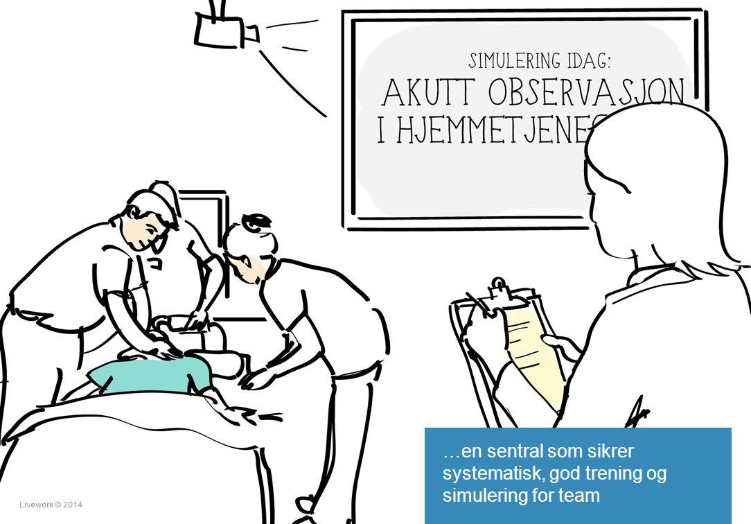 Livework © 201421 …en sentral som sikrer systematisk, god trening og simulering for team