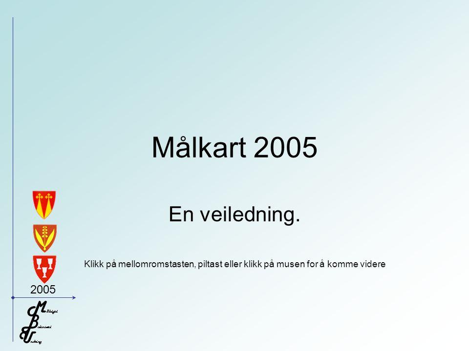 2005 Målkart 2005 En veiledning.