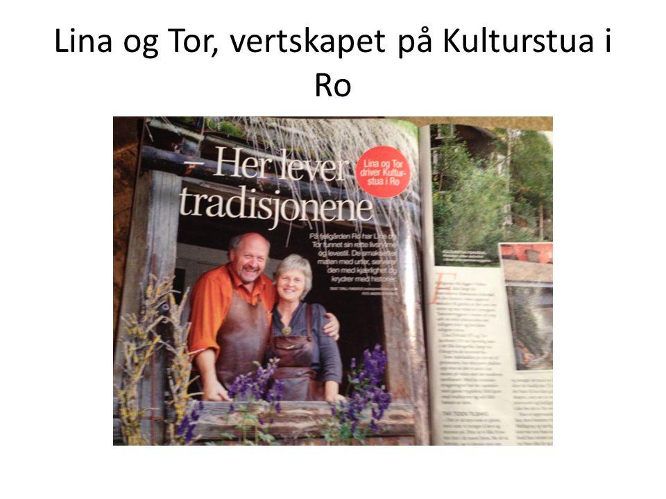 Lina og Tor, vertskapet på Kulturstua i Ro