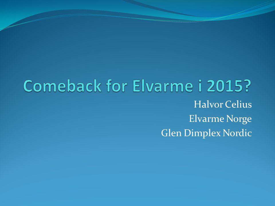 Halvor Celius Elvarme Norge Glen Dimplex Nordic