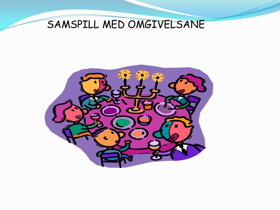 SAMSPILL MED OMGIVELSANE
