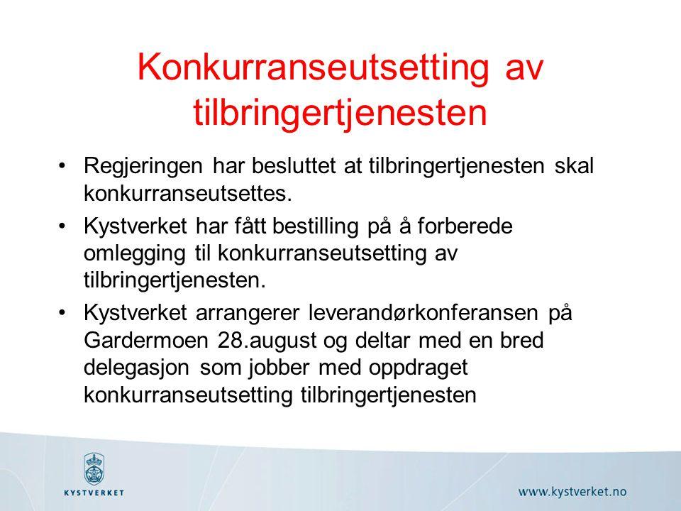 Sjøtrafikksentralene/VTS NOUen sitt forslag om samlokalisering ansees ikke tilstrekkelig utredet.