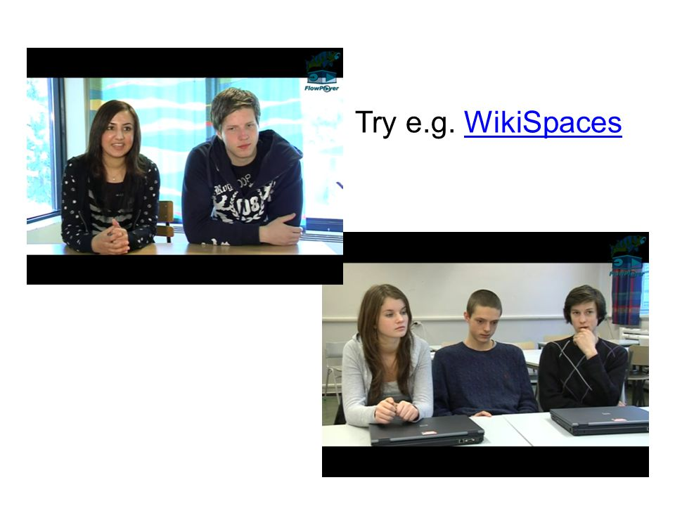 Try e.g. WikiSpacesWikiSpaces