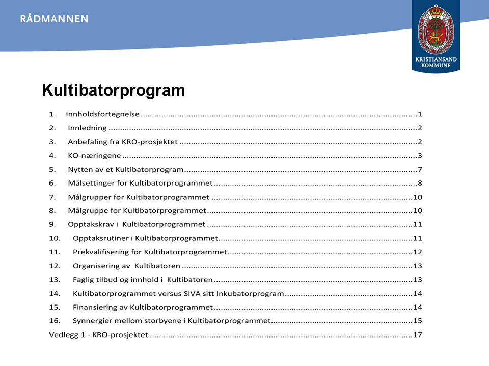 Kultibatorprogram