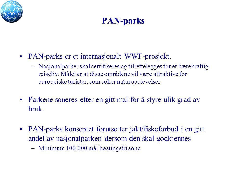 PAN-parks PAN-parks er et internasjonalt WWF-prosjekt.