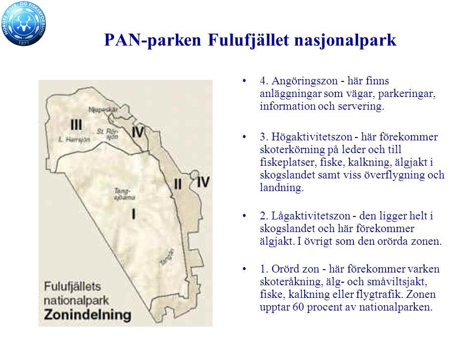 PAN-parken Fulufjället nasjonalpark 4.