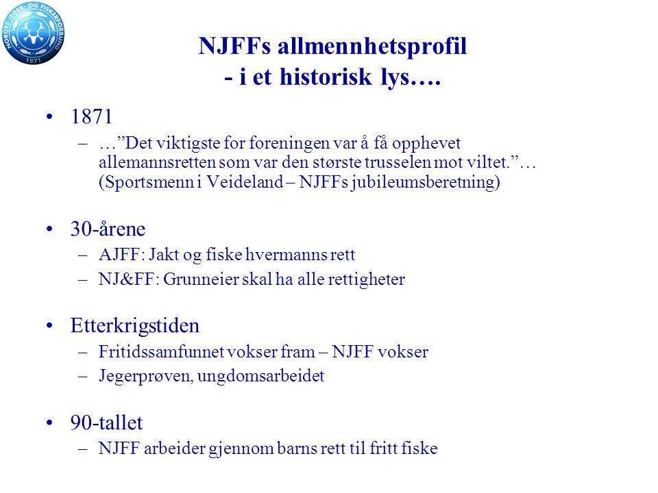 NJFFs allmennhetsprofil - i et historisk lys….