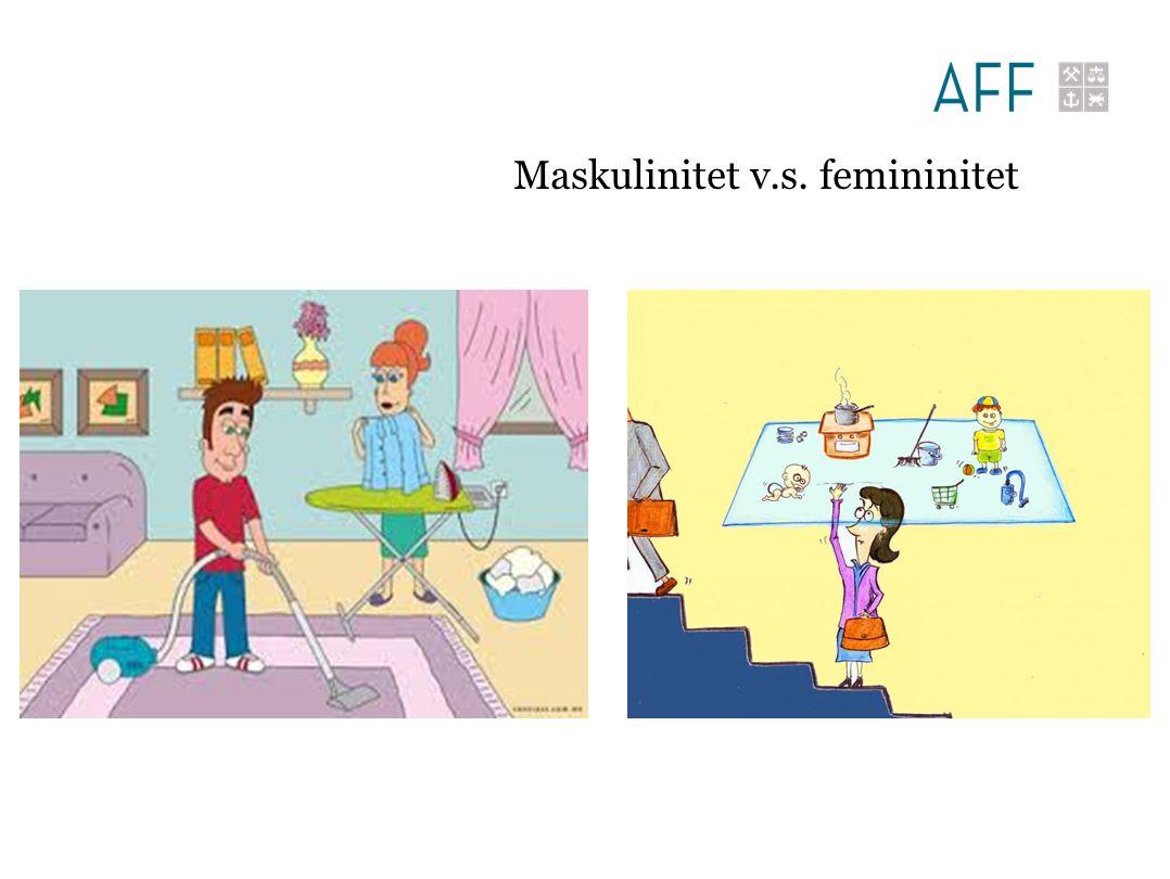 Maskulinitet v.s. femininitet