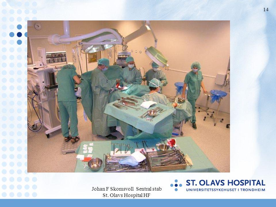 Johan F Skomsvoll Sentral stab St. Olavs Hospital HF 14