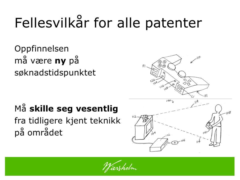 Patentrettens varighet – pl § 40 Et meddelt patent kan opprettholdes i inntil 20 år fra den dag patentsøknaden ble inngitt.