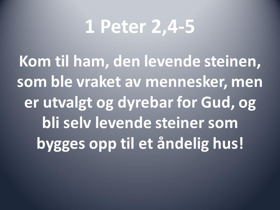 Joh 13,34 Et nytt bud gir jeg dere: Dere skal elske hverandre.
