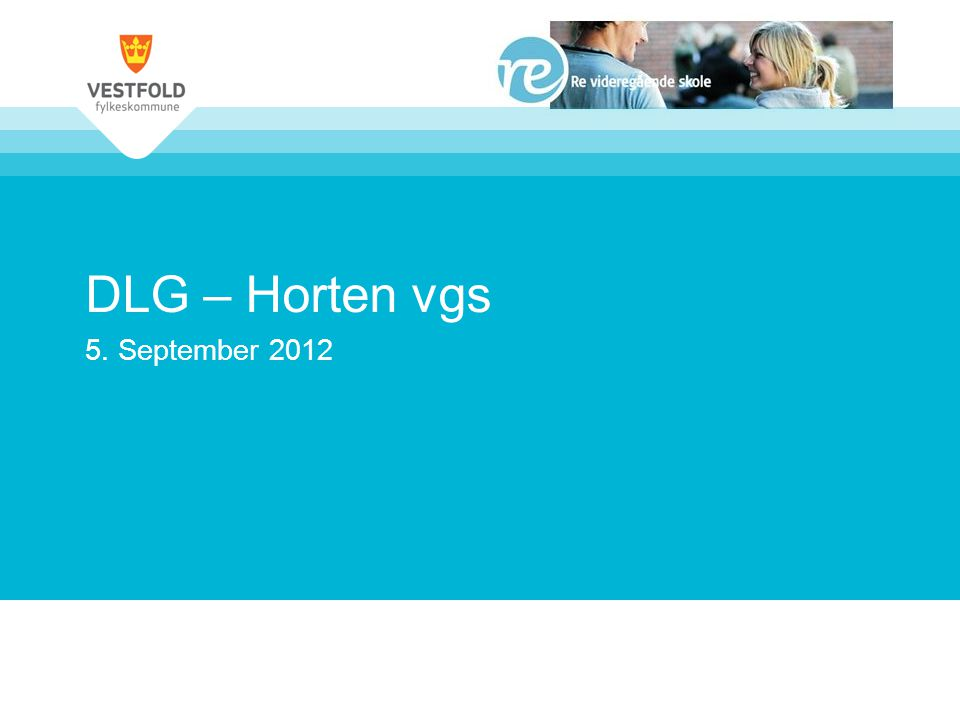 DLG – Horten vgs 5. September 2012